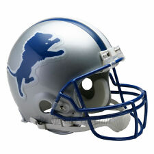 DETROIT LIONS 83-02 THROWBACK NFL AUTHENTIC FOOTBALL HELMET