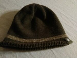 Life Is Good Beanie Hat Olive Green Knit Unisex