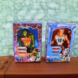 Masters Universe Mini Box 1:12 Scale MOTU Giants TYTUS & MEGATOR Miniature HeMan