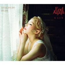 GAIN - [END AGAIN] 1st Album Part.1 CD+Photo Book K-POP Sealed Brown Eyed Girls
