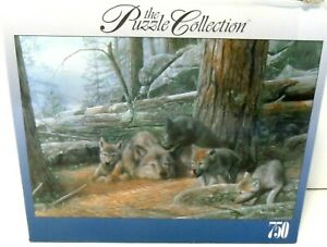 """RoseArt 750 Piece Puzzle The Puzzle Collection """"A Mother's Patience"""" NEW/sealed"""