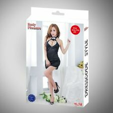 Body Pleasure - TL78 - Role Play - Maid - One Size Fits Most - Gift Box - Black