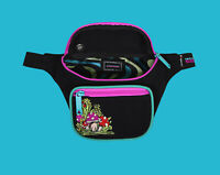 Bumbag Evan Smith Deluxe Hip Pack Black Skate Messenger Bum Bag Waist Pack