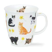 Dunoon Flower Cats gelb Mug Henkelbecher Nevis