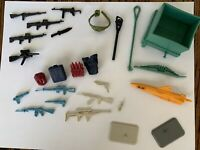 GI JOE LARGE WEAPON ACCESSORY LOT X 26 ARAH COBRA SWAMP SKIER VINTAGE 1986 RIFLE