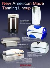 Tanning Bed Salon Equipment Package Refurbished with Mystic Tan Spray Booth