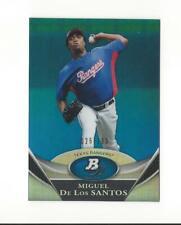 2011 Bowman Platinum Prospects Blue Refractor #BPP13 Miguel De Los Santos /199