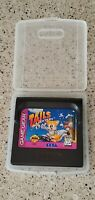 Tails Adventure Sega Game Gear Cartridge & Case Lot AUTHENTIC CLEAN & TESTED !!!