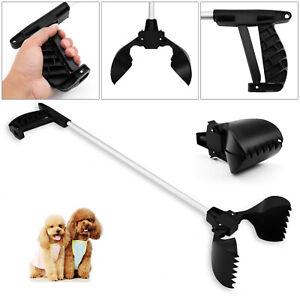 73cm Long Reach Dog Pet Waste Pickup Poop Scoop Poo Remover Easy Pick Up Tool