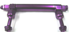 Telescopic Adjustable Billet Fuel Log Holley 4150 4500 Dom Polished Purple