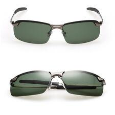 Men's UV400 Polarized Vintage Sunglasses Outdoor Sports Driving Glasses Eyewear