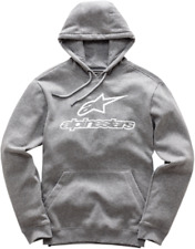 Alpinestars Always Fleece Hoody Size XL Charcoal Gray Hoodie Grey Pullover