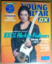 100% RICHIE KOTZEN Japan Young Guitar Mag w/CD Tab