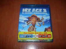 ICE AGE 3 EL ORIGEN DE LOS DINOSAURIOS BLU-RAY + DVD (PRECINTADO)