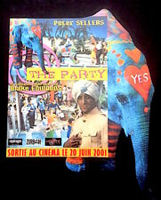 THE PARTY - Blake Edwards - Peter Sellers 1968 - Publicité 2001 - parfait état