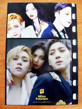 TRIPLE H  REtro Futurism (Ver. B) [OFFICIAL] POSTER *NEW* K-POP Hyuna Hui E'Dawn