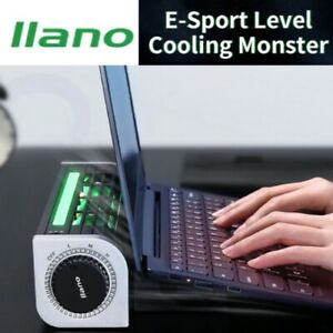 """⚡E-Sports level Laptop Cooler Cooling Pad 13"""" - 17.6"""" Quieter, Better Cooling"""