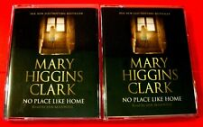 Mary Higgins Clark No Place Like Home 3-Tape Audio Book Jan Maxwell Thriller
