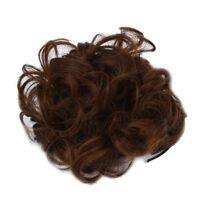 Wellenfoermige Lockige Synthetische Haarknoten Abdeckung C Haar Peruecke