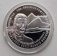 More details for 2009 - 10 zł - 100 lat topr - silver - proof condition