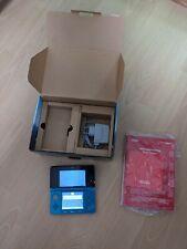 Nintendo 3DS Aqua Blau Handheld-Spielkonsole (PAL)