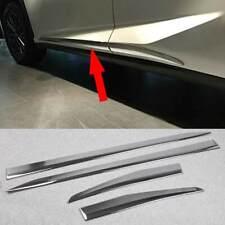 fits Lexus NX200t NX300 NX300h Chrome Body Side Door Molding Cover Trim 4pcs