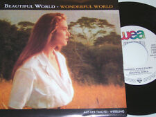 """7"""" - Beautiful World Wonderful World - Timotei Werbung MINT 1992 # 2768"""