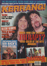 Andy Cairns of Therapy? on Kerrang Cover 1994    Pantera    Carcass   Dee Snider