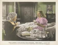 """""""MOSS ROSE""""-ORIGINAL PHOTO-COLOR-PEGGY CUMMINS-HAVING TEA"""