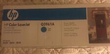NEW Genuine HP Q3961A Color LaserJet Print Cyan Cartridge 2550 2820 2840