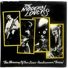 """Jonathan Richman & The Modern Lovers - The Morning Of Our Lives  - 7"""" Vinyl"""