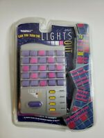 Tiger Electronics Lights Out Handheld Electronic Travel Puzzle Game Vintage 1997