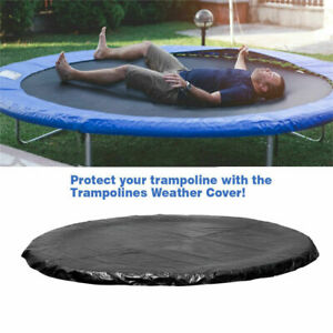 14 feet Round Trampoline Cover Rain Weather Dust Protection Sheet Protector Pad