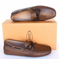 TOD'S Tods New sz UK 8  - US 9 Designer Mens Drivers Loafers Shoes brown