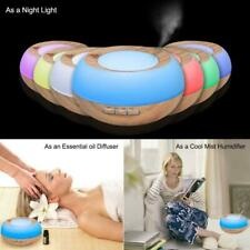 Night Light Food Grade Aroma Essential Oil Diffuser Ultrasonic Mist Humidifier