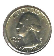 1976 Philadelphia Brilliant Uncirculated Washington Quarter Coin!