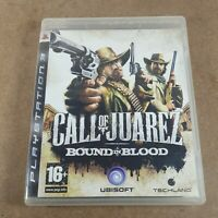 Call of Juarez Bound in Blood Playstation PS3 Action Video Game Manual PAL