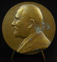 Medal Doc Jean-Louis Faure Surgery Gynaecological Charles Pillet 1934 Medal