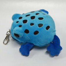 Blue Poison Dart Frog Pouch  ' with self-retracting reel '