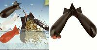 Fishing Feed Trough Spod Bomb Tackle Large Float Bait Pellet Rocket Carp Feeders