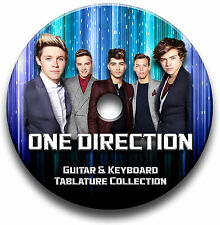 ONE DIRECTION POP ROCK GUITAR TAB TABLATURE SONG BOOK SOFTWARE CD