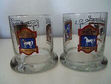 Vintage Rocks Cocktail Glasses Pub Tavern Bar Signs Red Blue Black Gilded Gold 2