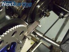 GO KART GMAX Catena Strumento Di Allineamento-MIGLIORE SU EBAY SUPER HQ-Rotax Max-CADET-x30