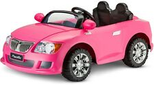 12V Sports Coupe Ride On PINK CAR KIDS TODDLER GIRLS GIFT OUTDOOR TOY 2-SPEEDS
