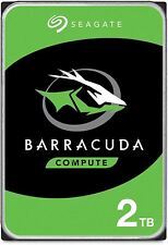 Seagate BarraCuda 2TB Internal Hard Drive HDD – 3.5 Inch SATA 6Gb/s 7200 RPM 256