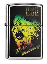 Zippo Lighter ● Bob Marley Iron Lion ● 60000436 ● Neu New OVP ● B245