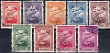 MOZAMBIQUE - C1 - C9 - COMPLETE USED AIRMAIL SET - LOOK!
