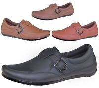 Mens Slip On Casual Shoes Deck Loafers Smart Walking Formal Driving Smart Boots