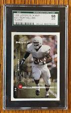 1999 Upper Deck MVP Ricky Williams #201 Saints Dolphins SGC 98 Gem Texas