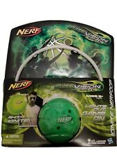Nerf Fire Vision Ignite Nerf Mini Basketball & Hoop Set Kids Toy Game, Green New